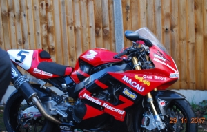 Ex Honda Racing UK 'Blade